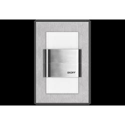 Kinkiet Duo Tango szlif | barwa światła: zimny biały | IP 20