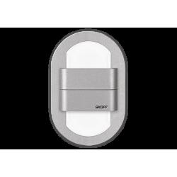 Duo Rueda alu | barwa światła: zimny biały | IP 20