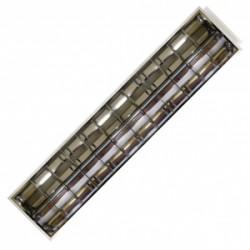 Oprawa rastrowa, podtynk. ART 2xTUBA LED T8, 120*30cm, AC-230V,