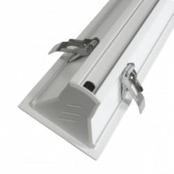 Lampa podtynkowa LED ART,20W,86x618x54mm,AC230V,3000K-WW