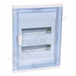 ROZDZIELNICA RWN 2 x 12 Drzwi transparentne