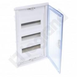 ROZDZIELNICA RWN 3 x 12 Drzwi transparentne