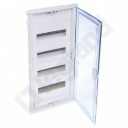 ROZDZIELNICA RWN 4 x 12 Drzwi transparentne