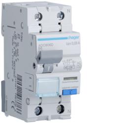 RCBO Wyłącznik różnicowoprądowy z człone ADC906D