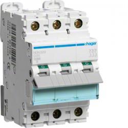 MCB Wyłącznik nadprądowy Icn=10000A / Ic
