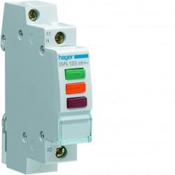 Lampka sygnalizacyjna LED czerwona+zielona SVN129