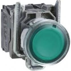 Przycisk sterowniczy 22mm zielony z samopowrotem