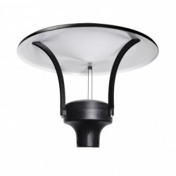 PROMENAD LED Indirect 30 Czarny/Black