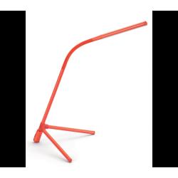 Geometry 4000K Lampa Biurkowa Czerwona