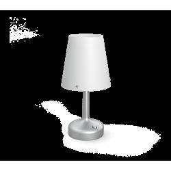Lampa Biurkowa Szara