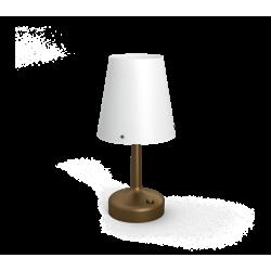 Lampa Biurkowa Brązowa