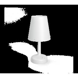 Lampa Biurkowa Biała