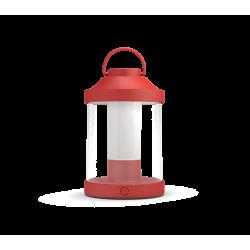 Abelia Czerwona Lampa Biurkowa
