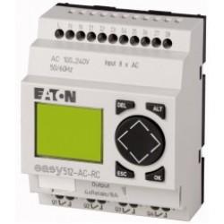 EASY512-AC-RC Przekaźnik programowalny easy 230VAC, 8wejść, 4 wyjścia
