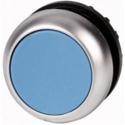 M22-D-B Napęd przycisku z samopowrotem,płaski,niebieski