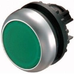 M22-D-G Napęd przycisku z samopowrotem,płaski,zielony