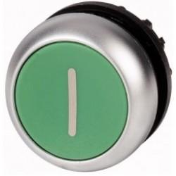 M22-D-G-X1 Napęd przycisku z samopowrotem,płaski,zielony