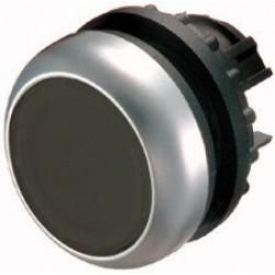 M22-D-S Napęd przycisku z samopowrotem płaski,czarny