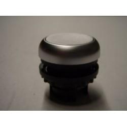 M22-D-W przycisk płaski z samopowrotem biały