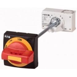 NZM1-XTVDVR Rękojeść drzwiowa czerwono/żółta do przycisku bezpieczeństwa