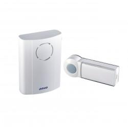Dzwonek bezprzewodowy EMO DC, bateryjny z learning system, biały