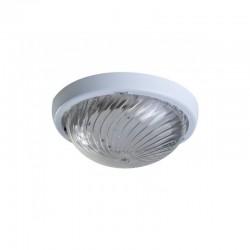 Oprawa oświetleniowa FEN, biała, E27, poliwęglan przeźroczysty