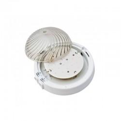 Oprawa oświetleniowa AUTAN LED, biała, szkło przeźroczyste