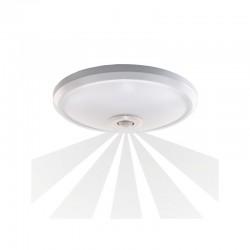 Plafon ZONDA LED, 12W, biały, PC, czujnik ruchu
