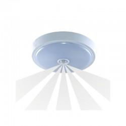 Plafon ANZU LED z czujnikiem ruchu, 76 SMD2835, 15W, 1050lm, 4000K, IP20, poliwęglan mleczny