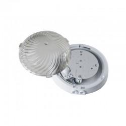 Oprawa AUTAN LED biała, poliwęglan przeźroczysty, czujnik mikrofalowy