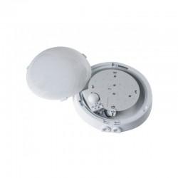 Oprawa AUTAN LED biała, poliwęglan mleczny, czujnik mikrofalowy