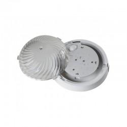 Oprawa FEN LED biała, poliwęglan przeźroczysty, czujnik mikrofalowy