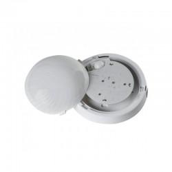 Oprawa FEN LED biała, poliwęglan mleczny, czujnik mikrofalowy