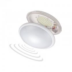 Plafon BREVA LED z czujnikiem mikrofalowym
