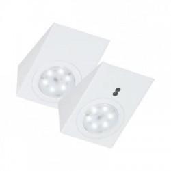Zestaw opraw meblowych LED z bezdotykowym wyłącznikiem