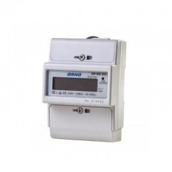 1-fazowy wskaźnik zużycia energii elektrycznej