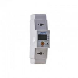 1-fazowy wskaźnik zużycia energii elektrycznej 80A + WSKAŹNIK + WYJŚCIE IMPULSOWE