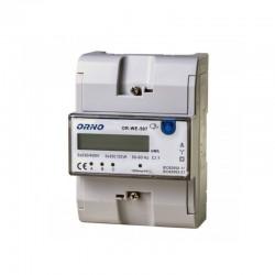 3-fazowy wskaźnik zużycia energii elektrycznej, 3x20(120)A