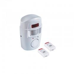 Mini alarm z wbudowaną syreną na pilota