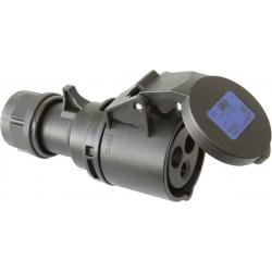 Gniazdo PCE 213-6x, 230 V, 16 A, IP44