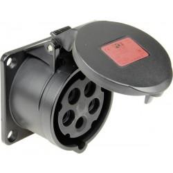 Gniazdo PCE 315-6x, 400 V, 16 A, IP44