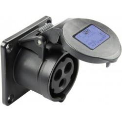 Gniazdo PCE 313-6TTX, 230 V, 16 A, IP44