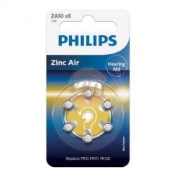 Bateria słuchowa ZA10 / PR10 / PR70 1,4V ZA10B6A/10 /blister 6szt./