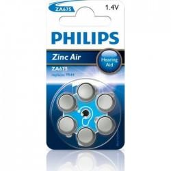 Bateria do aparatów słuchowych ZA675 / PR44 1,4V ZA675B6A/10 /blister 6szt./