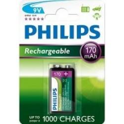 Akumulatorki Philips 9VB1A17/10 170mAh 1 szt.
