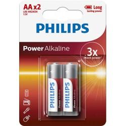 Power Alkaline Bateria AA, Alkaliczna  LR6P2B/10   1 szt.