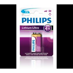 Lithium Ultra Bateria 9 V, Lit  6FR61LB1A/10   1 szt.