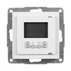 Termostat elektroniczny programowalny WS311, biały