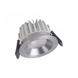 Spot LED fix 8W/3000K SI DIM IP44