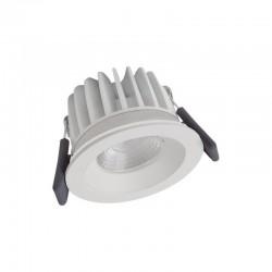 Spot-FireProof LED fix 8W/3000K WT DIM IP65